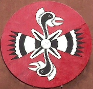The symbol of the Alabama-Coushatta Tribes