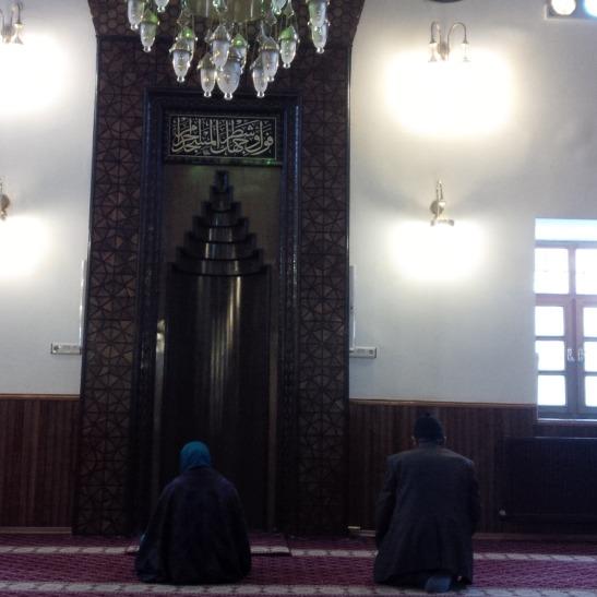 prayer at shams