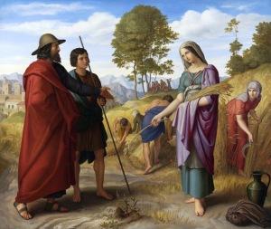HOFFMANN - Julius Schnorr von Carolsfeld - Ruth in Boaz Field 1828