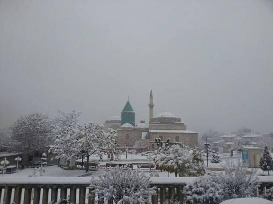 Konya snow