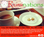 Ruminations March 2015