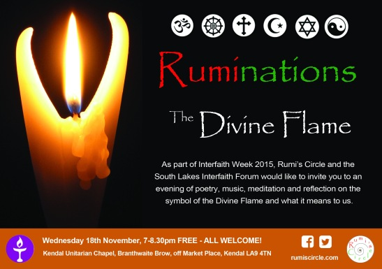 Ruminations Interfaith Week 2015