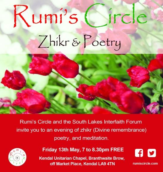Rumis Circle Kendal May 13th 2016