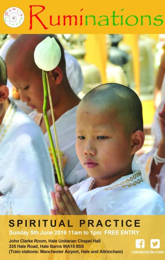 Ruminations Spiritual Practice Jun 2016 HALE