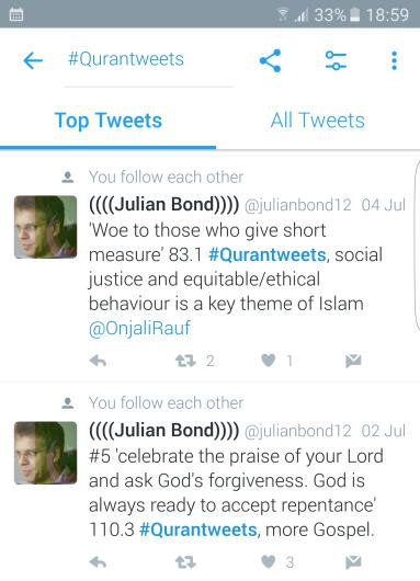 quran tweets